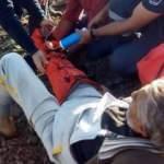 Mantar toplarken yaralanan yaşlı adam önce kurtarıldı sonra ceza kesildi