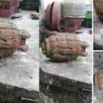 Tarlasında çapa yapan çiftçi, el bombası buldu