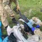 Van Başkale'de suikast silahları bulundu