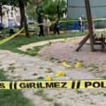 Ataşehir'de parkta baba oğlunu öldürdü