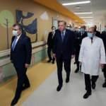 Başkan Erdoğan Başakşehir Şehir Hastanesini inceledi! İşte dikkat çeken kareler