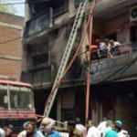 Hindistan'da boya dükkanında patlama: 7 ölü