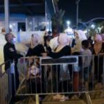 İşgalci İsrail'den Kadir Gecesi'ni Mescid-i Aksa'da geçirmek isteyen Filistinlilere engel