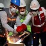 İstanbul'da Ataköy-İkitelli metro hattı birleştirildi
