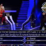 Kim Milyoner Olmak İster'de Sabri Sarıoğlu sorusu