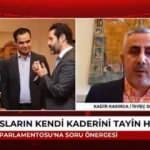 PKK'nın İsveç'teki sesi Kadir Kasırga CHP'ye sahip çıktı