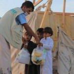 Ramazan bereketi Yemen'de yüzleri güldürdü