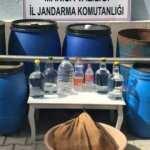 Sahte alkol üretimine baskın