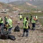 Sıhke Gölü'nden tam 30 ton çöp toplandı