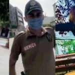 Yasağı çiğneyip bekçilere direndi, polis gelince ağladı…
