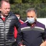 Ahmet Nur Çebi takımla bir araya geldi