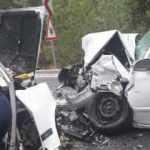 Başkentte otomobiller çarpıştı: 2 ölü, 3 yaralı