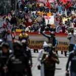 Ekvador'da korona kesintileri nedeniyle protestolar başladı