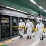 Güney Kore'de toplu taşımada maske takma zorunluluğu getirildi