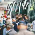 Otobüste izdiham var: HES kodu otobüsle seyahatlerde de şart