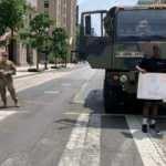 ABD'de 34 eyalette 43 binden fazla ulusal muhafız sokaklarda