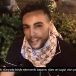 ABD'deki gösterilerde Erdoğan'ın adını duyan gencin sevinci