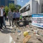 Belediyeden anlamlı çöp sergisi: Bu sizin eseriniz