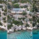 Cennet koydaki kaçak villa yıkıldı