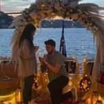 Ozan Tufan'dan Rojin Haspolat'a evlilik teklifi