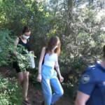 Doğa yürüyüşünde kaybolan 3 genç kız kurtarıldı!