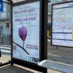 Hollanda'da Kovid-19 mücadelesi veren halka ayetli destek