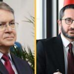 İletişim Başkanı Fahrettin Altun'dan ABD'nin Ankara Büyükelçisi ile önemli görüşme
