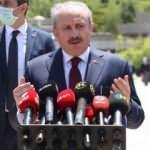 Meclis Başkanı Şentop'tan son dakika açıklama