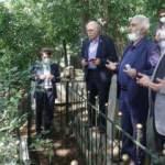 Şair Ahmet Haşim mezarı başında anıldı