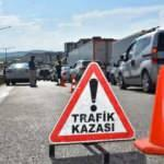 Trafik kazaları oranında büyük değişim