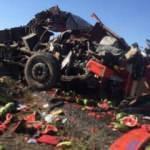 17 yaşındaki Tunahan, kullandığı kamyonla TIR'a çarptı: 3 yaralı