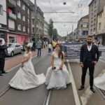 Almanya'da evlilik sektörü protestosu