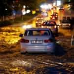Başkent göle döndü! Çok sayıda araç sular altında kaldı!