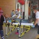 Elini torna makinesine kaptıran işçi yaralandı