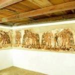 Evde Maya duvar resimleri bulundu! paha biçilemiyor