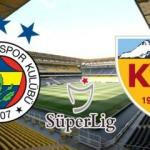 Fenerbahçe Kayserispor maçı ne zaman, saat kaçta başlayacak? Muhtemel 11'ler belli oldu!