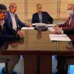 Galatasaray yöneticilerinden Mustafa Cengiz'e ziyaret