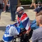 Irkçı İngilizlerden Churchill nöbeti