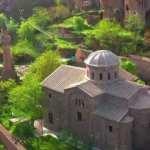 Kapadokya'nın küçük Ayasofya'sı hayran bırakıyor