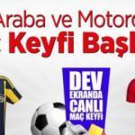 Kayserispor taraftarları Fenerbahçe maçını dev ekrandan izleyecek