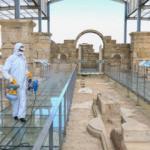 Laodikeia Antik Kenti dezenfekte edildi