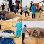 Libya'dan korkunç görüntüler! Kuyudan çıkartıldı