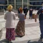 Tırnakçılık yapan 2 kadın jandarma tarafından yakalandı