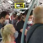 Metrobüste tepki çeken yoğunluk