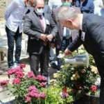 Şehit öğretmen Aybüke Yalçın mezarı başında anıldı