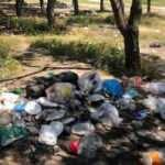 Utandıran manzara: Piknikten sonra çöplerini bırakıp gittiler
