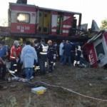 Malatya'da iki yük treni kafa kafaya çarpıştı: Ölü, yaralı ve kayıplar var