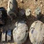 Barış Pınarı bölgesinde 68 kilogram patlayıcı ele geçirildi