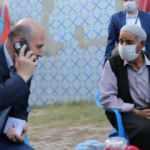 Başkan Erdoğan, terör örgütü PKK'nın katlettiği işçinin ailesiyle görüştü