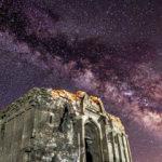 Bin 700 yıllık kilise, ilk kez gece fotoğraflandı